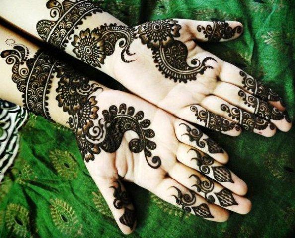 Bridal Mehandi Design 2016