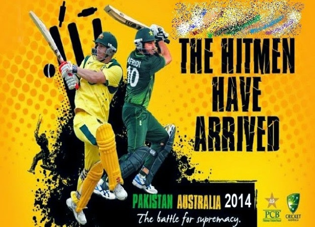 Pakistan vs Australia live Twenty 20 Match