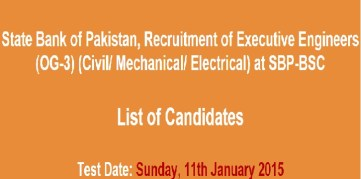 state bank nts written test list of candidates