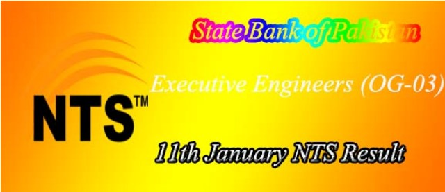 executive Engineers nts test result
