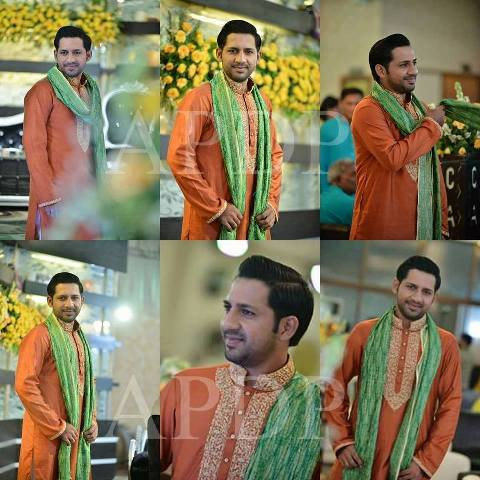 Sarfraz Ahmed Wedding marriage pics