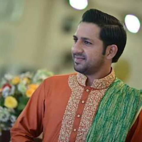 pakistani Cricketer Sarfraz Ahmed Mendi wedding ceremony