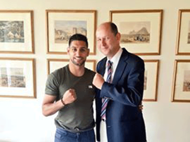 Amir boxer to build Boxing Academy in pakistan