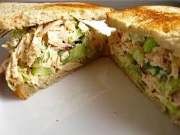 Easy chicken sandwich recpie at home