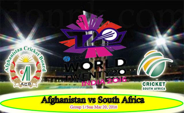 Afghanistan vs South Africa live cricket streaming 20 march 2016