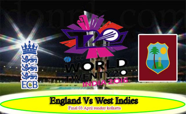 Live Streaming england vs West indies 3 april sunday