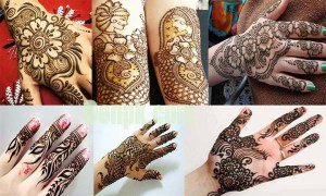 Simple Mehndi Design- Arabic Mehndi Designs