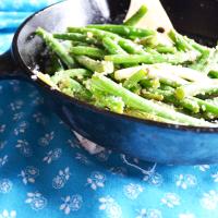 Perfect Garlic Green Beans