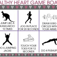 Healthy Heart Game Board
