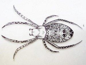 zentangle_spider_by_luzilla-d5wvqc6