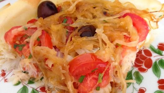 Bacalhau ao forno com tomate envolto em massa filo – Receita de Natal