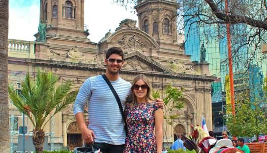 Passeio de Bicicleta em Santiago