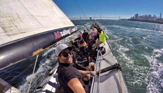 Passeio de veleiro USA 76 em San Francisco