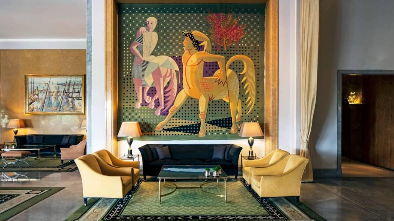 Obras de arte no Lobby