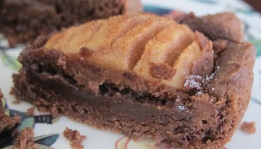Torta de Chocolate com Pêras