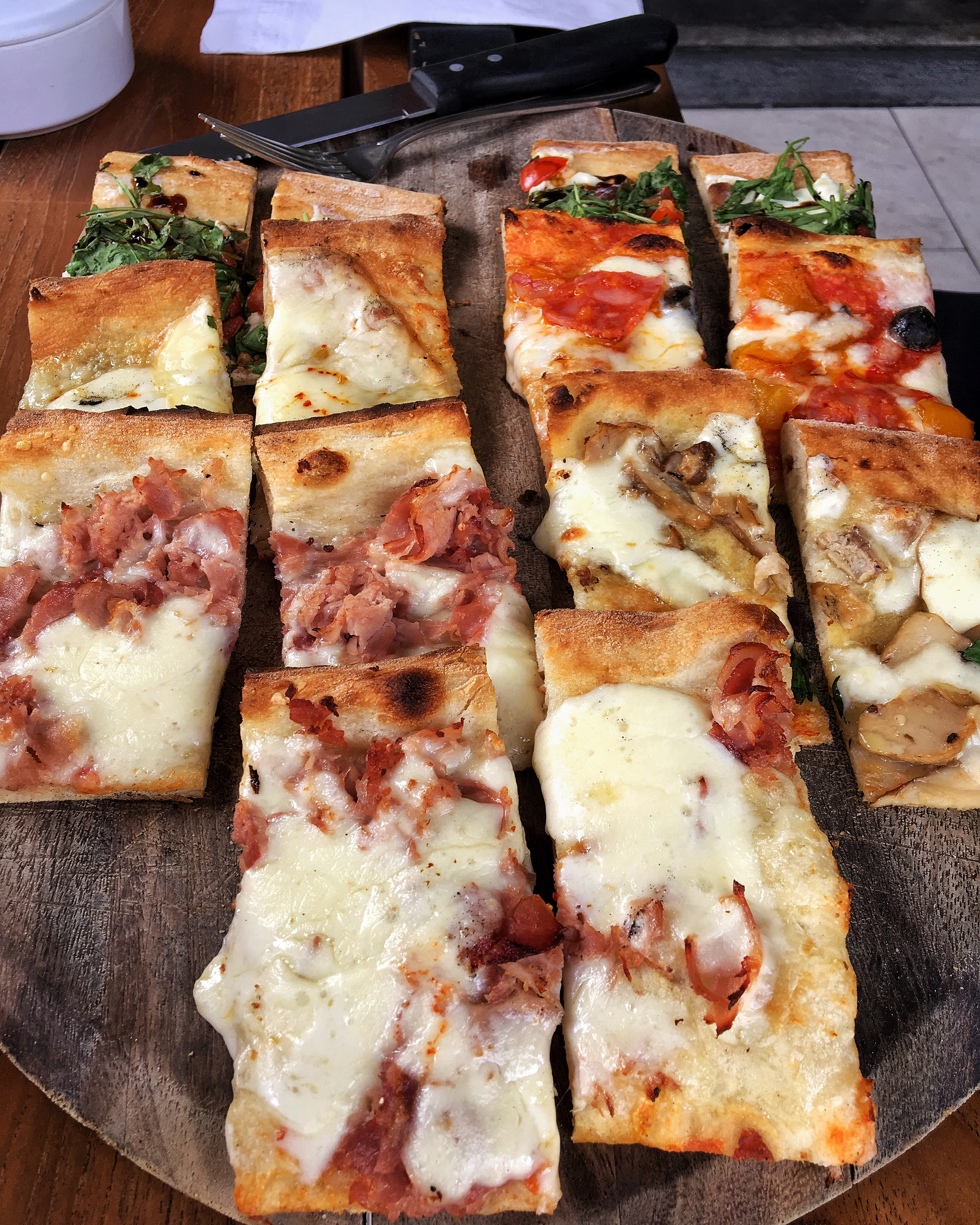 Pizzas maravilhosas