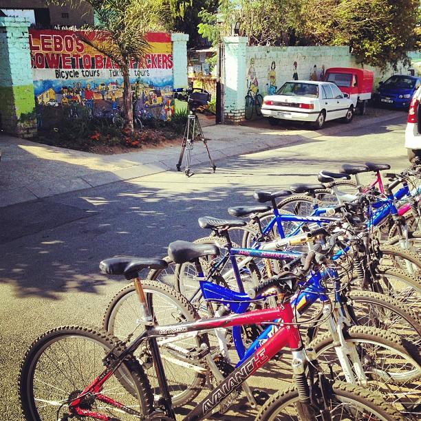 Soweto  de bike