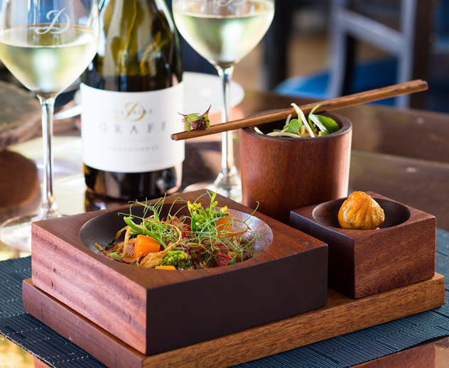 Indochine-Duck-Geng-Gari-with-Delaire-Graff-Coastal-Cuvee-Sauvignon-Blanc