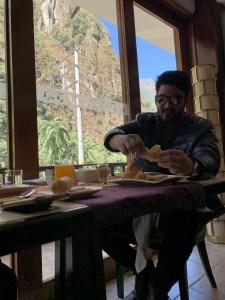 sumaq aguas calientes desayuno
