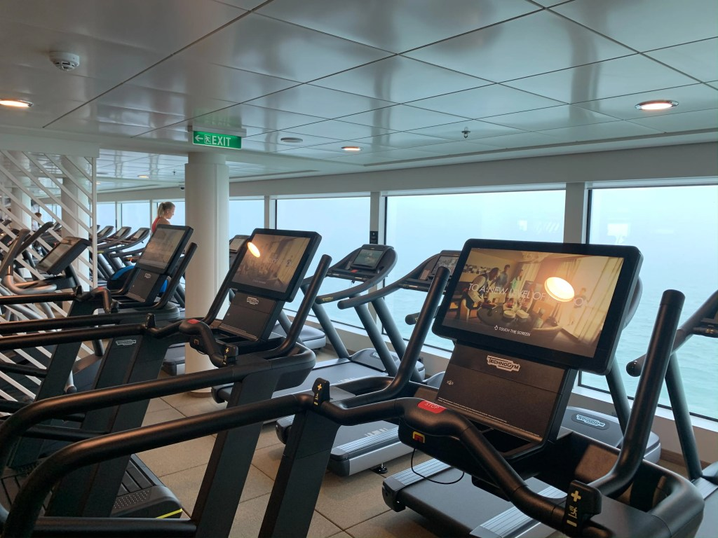 norwegian encore gym 2