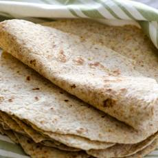 These hearty whole wheat tortillas are my paternal grandmother's recipe. These are vegan, delicious, kid approved, and the real deal!
