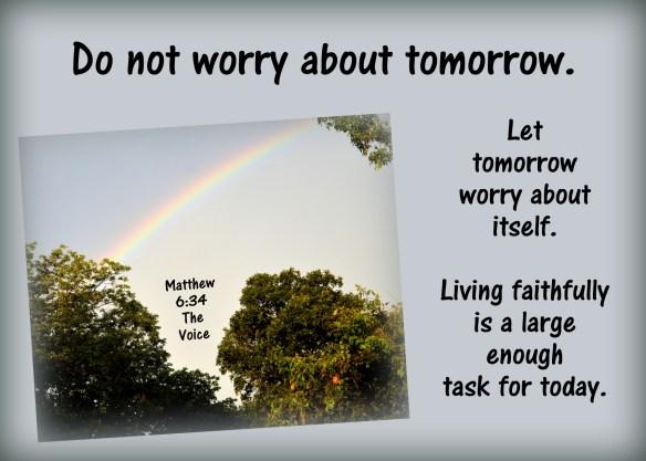 Matthew 6-34