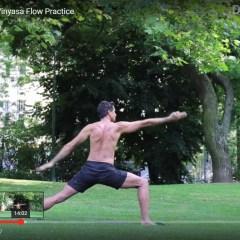 Vinyasa Flow Practice Video