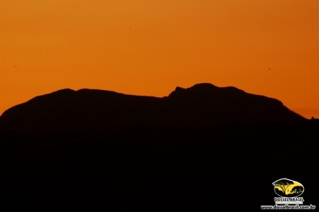 Serra da Careta - Avistada do Morro Caxambu- MG