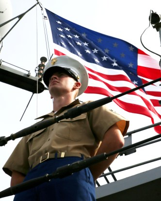 Marines, sailors arrive in South Boston