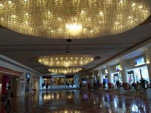 宝塚大劇場のシャンデリア