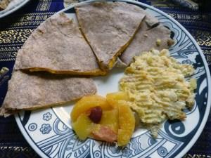 Diet to go egg quesadilla