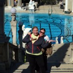 Me and Bookieboo at Hearst Castle