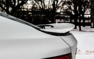 2014 BMW 335i GranTurismo rear wing