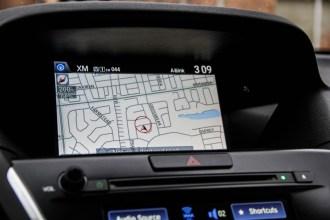 2014 Acura MDX Elite navigation screen