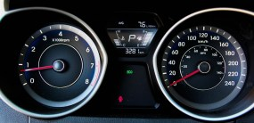 2014 Hyundai Elantra Limited instrument cluster