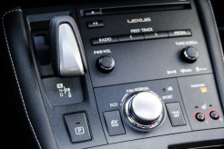 2014 Lexus CT200h F-Sport centre stack
