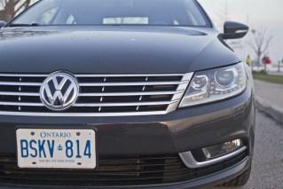 2014 Volkswagen CC 2.0T grille