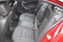 2014 Buick Regal GS rear seats