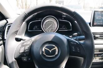 2014 Mazda3 GT steering wheel
