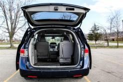 2014 Honda Odyssey Touring open trunk