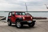 2014 Jeep Wrangler front 1/4