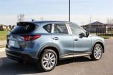 2014 Mazda CX-5 GT rear 1/4
