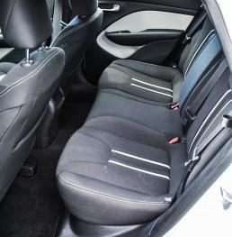 2014 Dodge Dart SXT rear seats