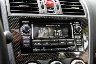 2015 Subaru WRX Sport stereo