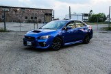2015 Subaru WRX Sport front 1/4