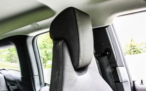 2015 BMW i3 seats