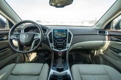 2014 Cadillac SRX interior