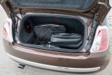 2014 Fiat 500C Lounge trunk
