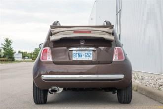 2014 Fiat 500C Lounge rear