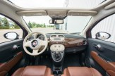 2014 Fiat 500C Lounge interior